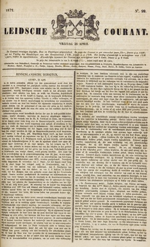 Leydse Courant 1872-04-26