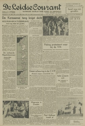 Leidse Courant 1950-09-25
