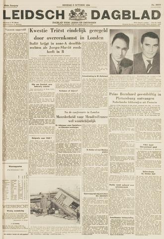 Leidsch Dagblad 1954-10-05
