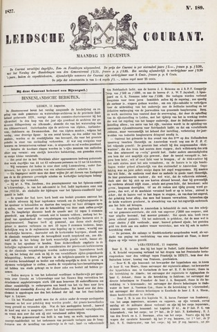 Leydse Courant 1877-08-13