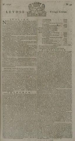 Leydse Courant 1736-03-09