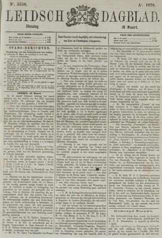 Leidsch Dagblad 1878-03-19