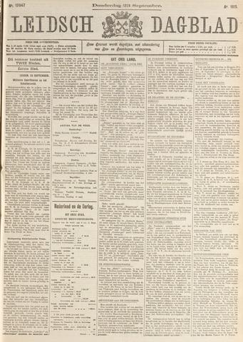 Leidsch Dagblad 1915-09-23