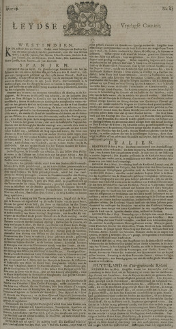 Leydse Courant 1729-05-27