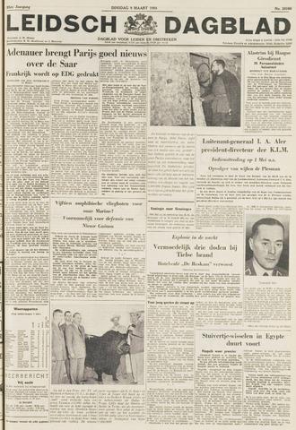 Leidsch Dagblad 1954-03-09