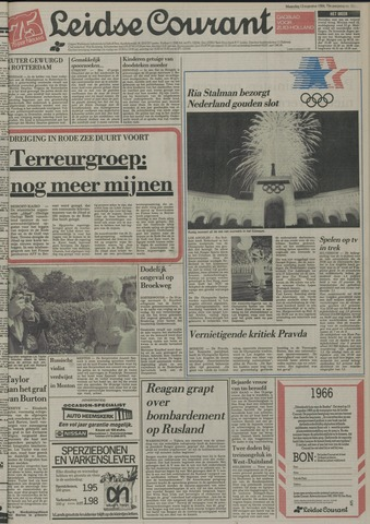 Leidse Courant 1984-08-13