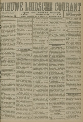 Nieuwe Leidsche Courant 1921-05-31