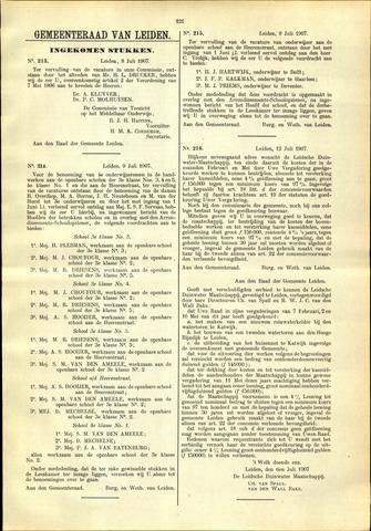 Handelingen van de Raad 1907-07-08