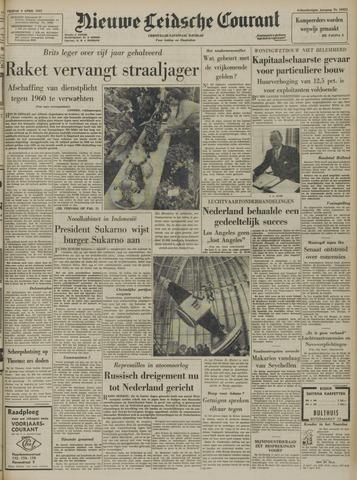 Nieuwe Leidsche Courant 1957-04-05
