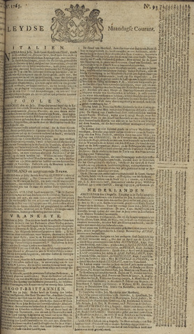 Leydse Courant 1765-08-05