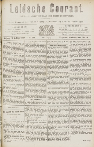 Leydse Courant 1889-10-11