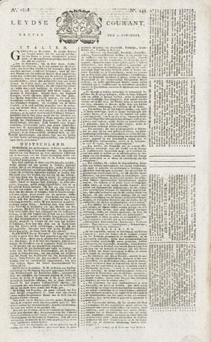 Leydse Courant 1818-11-27