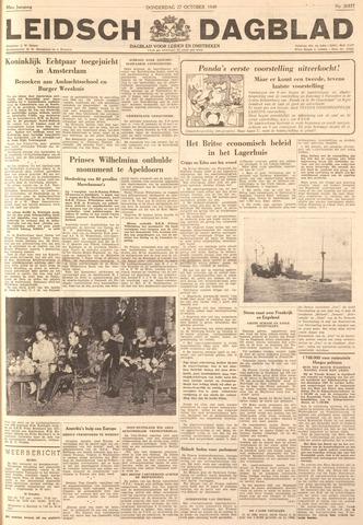 Leidsch Dagblad 1949-10-27