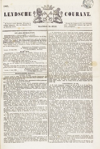 Leydse Courant 1865-07-24