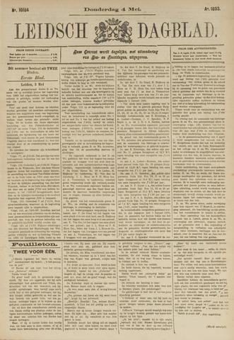 Leidsch Dagblad 1893-05-04