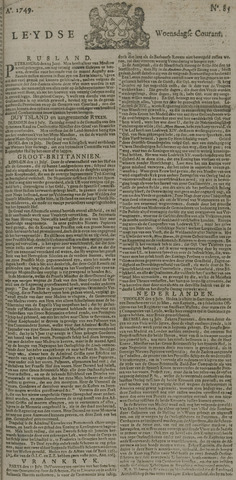 Leydse Courant 1749-07-16