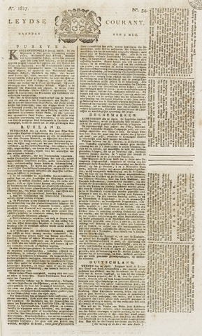 Leydse Courant 1817-05-05