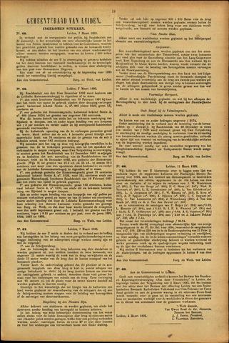 Handelingen van de Raad 1895-03-07