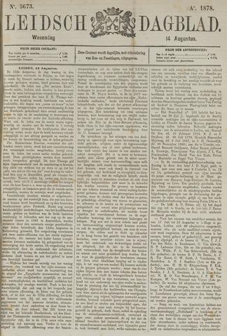 Leidsch Dagblad 1878-08-14