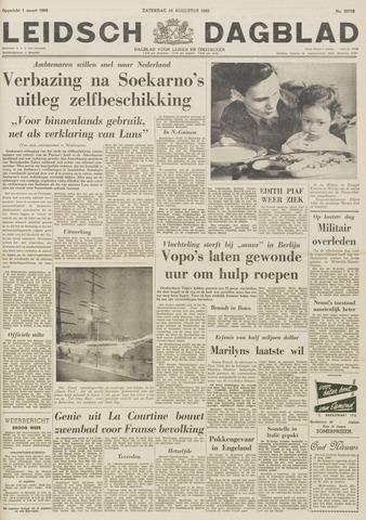 Leidsch Dagblad 1962-08-18