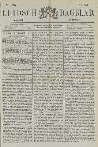 Leidsch Dagblad 1875-02-27