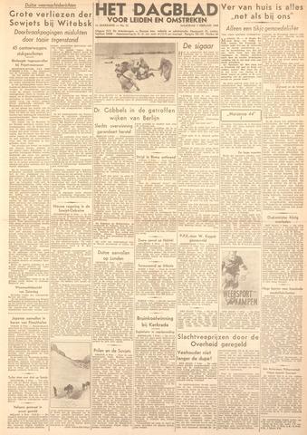 Dagblad voor Leiden en Omstreken 1944-02-07