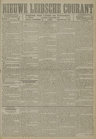 Nieuwe Leidsche Courant 1921-12-02
