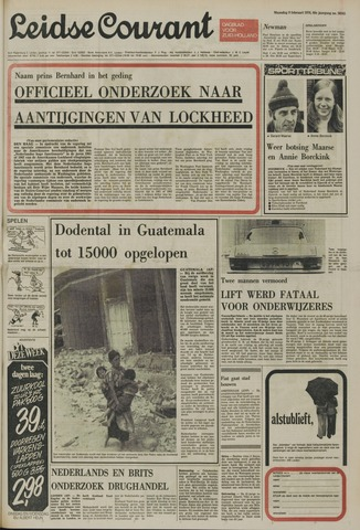 Leidse Courant 1976-02-09
