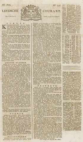 Leydse Courant 1825-11-14
