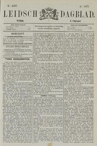 Leidsch Dagblad 1875-02-05