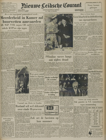 Nieuwe Leidsche Courant 1957-06-05