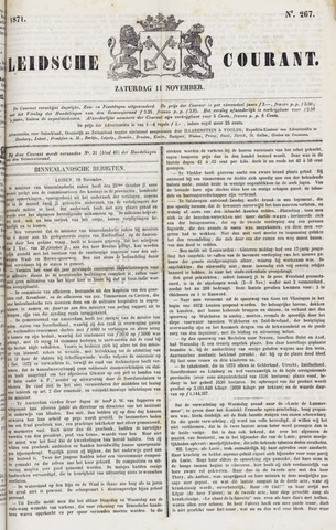 Leydse Courant 1871-11-11