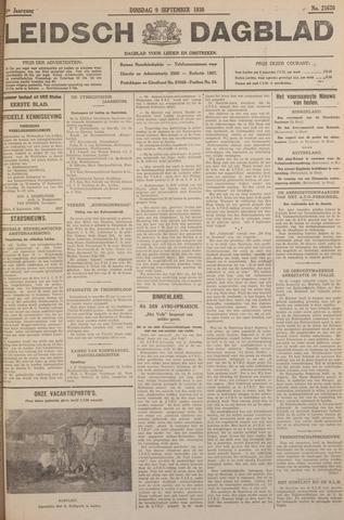 Leidsch Dagblad 1930-09-09