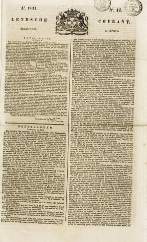 Leydse Courant 1841-04-12