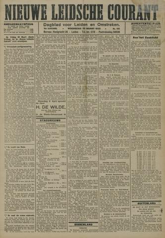 Nieuwe Leidsche Courant 1923-03-28