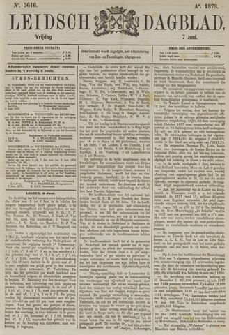 Leidsch Dagblad 1878-06-07