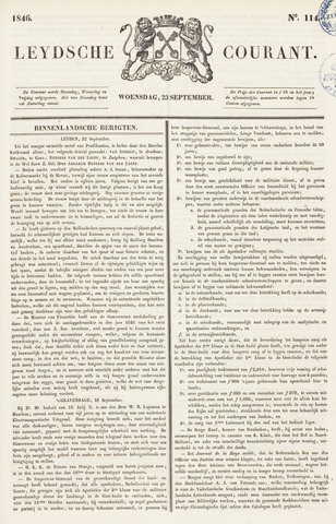 Leydse Courant 1846-09-23
