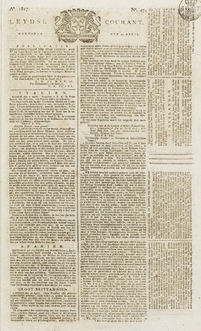 Leydse Courant 1817-04-23