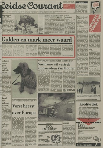 Leidse Courant 1987-01-12
