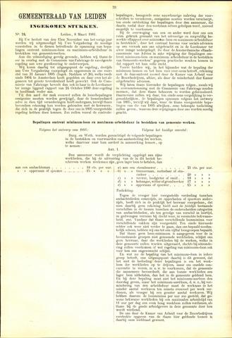 Handelingen van de Raad 1901-03-08