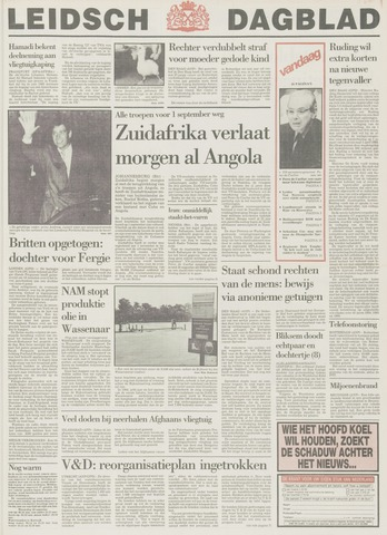Leidsch Dagblad 1988-08-09