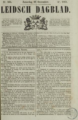 Leidsch Dagblad 1861-12-28