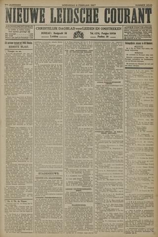 Nieuwe Leidsche Courant 1927-02-09