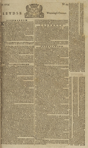 Leydse Courant 1754-08-07