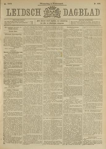 Leidsch Dagblad 1904-02-01