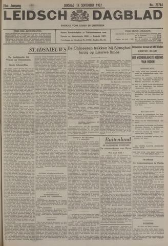 Leidsch Dagblad 1937-09-14