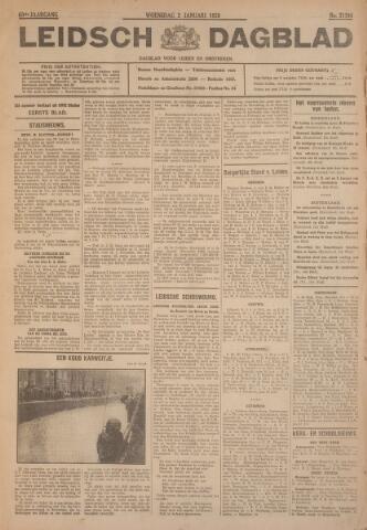 Leidsch Dagblad 1929