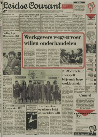 Leidse Courant 1989-02-07