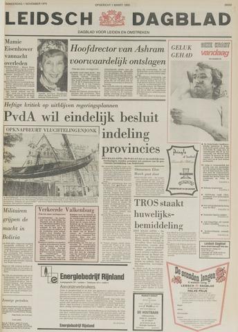 Leidsch Dagblad 1979-11-01