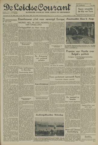 Leidse Courant 1952-01-23